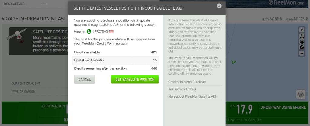 LESOTHO Sat Update information box