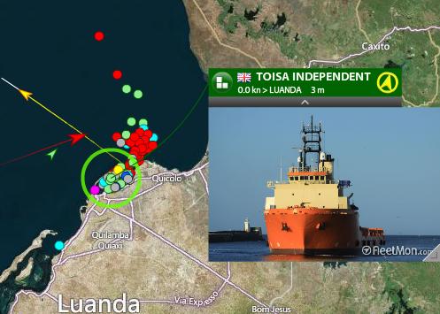 Porto de Luanda in Angola