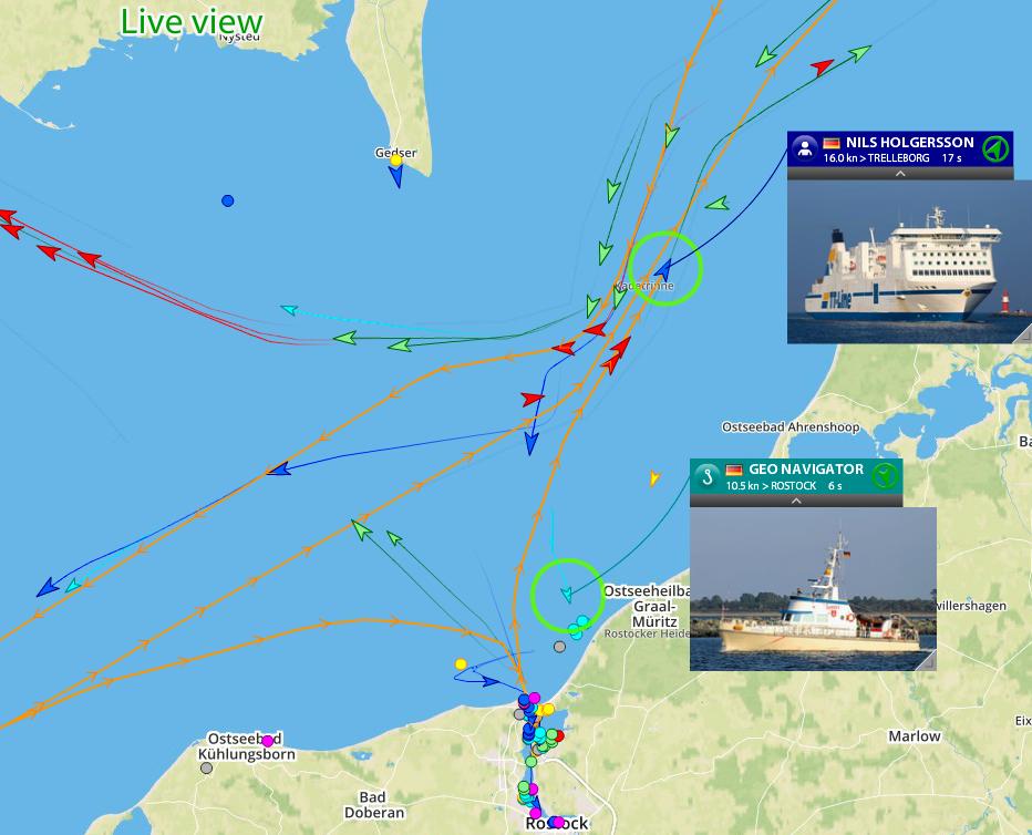 Enjoy improved AIS coverage for FleetMon's home port Rostock!
