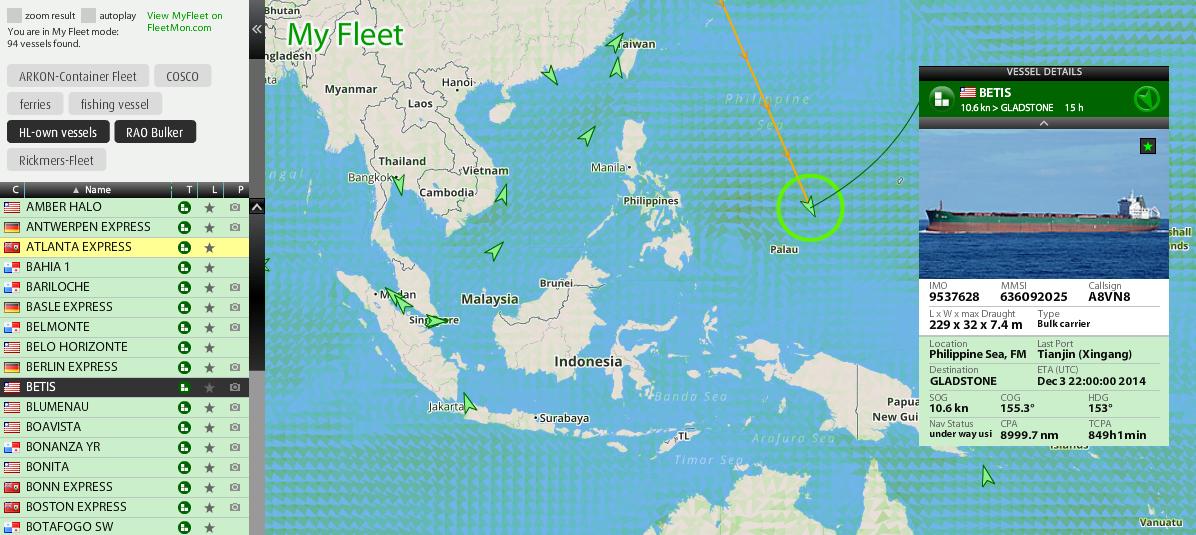 FleetMon Explorer - Your indivual fleets in a separate view d4d567e6e15