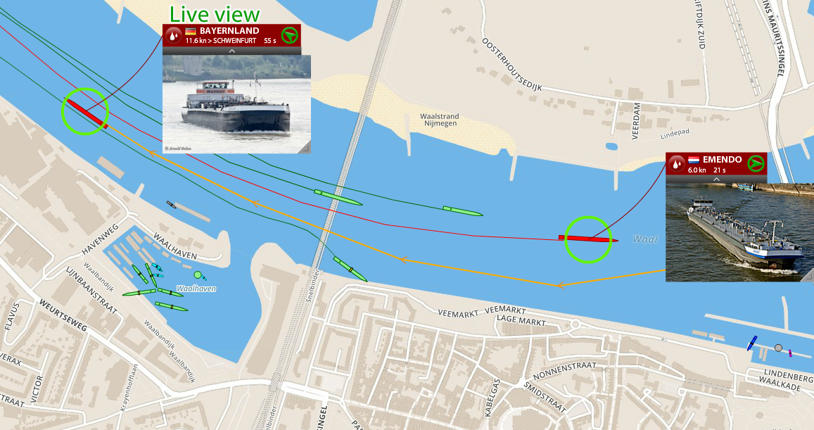 AIS coverage could also be improved in FleetMon's  home port Rostock, in Vienna, Australia and along the river Waal, Netherlands.