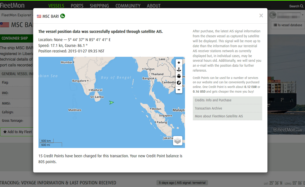 Satellite Tracking Reinvented For You Blog Inside FleetMon - Up to date satellite maps online